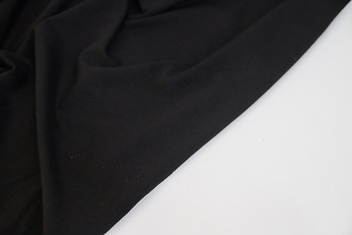 Viscose Jersey - Black - 1/2 metre