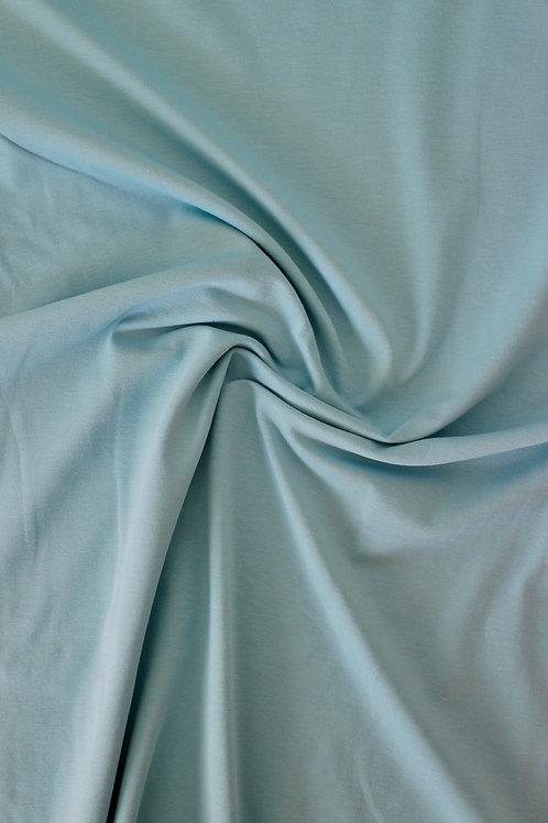Cotton Jersey - Pale Teal - 1/2 metre