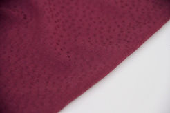 Viscose - Textured Dots Burgundy - 1/2 metre