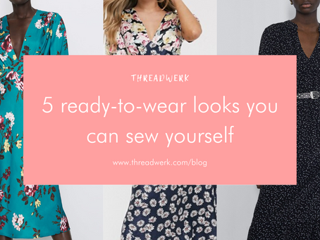 Sew the trends - ready-to-wear looks you can sew yourself