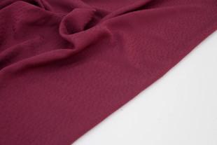 Viscose - Textured Dots Burgun