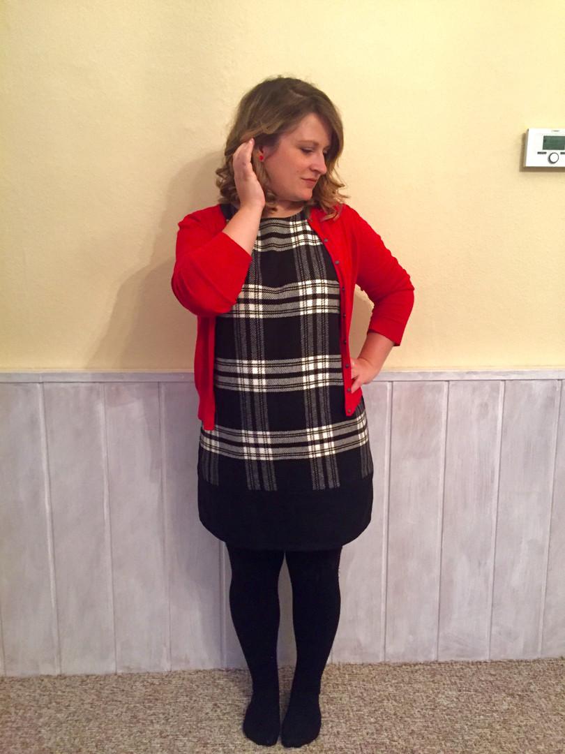 Shift Dress in Wool