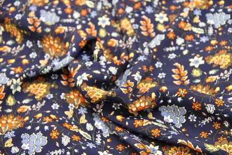 Rayon Crepe - Oriental Blossom