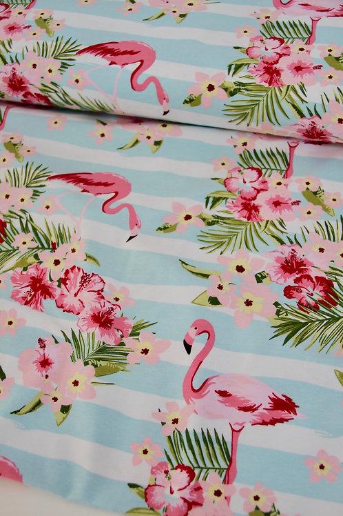 Cotton Jersey - Summer Holidays - 1/2 metre
