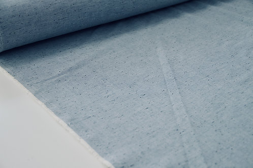 Cotton - Linen Look Denim Blue - 1/2 metre