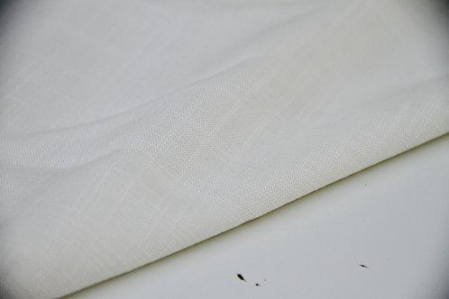 Viscose - Linen Look Ivory - 1/2 metre