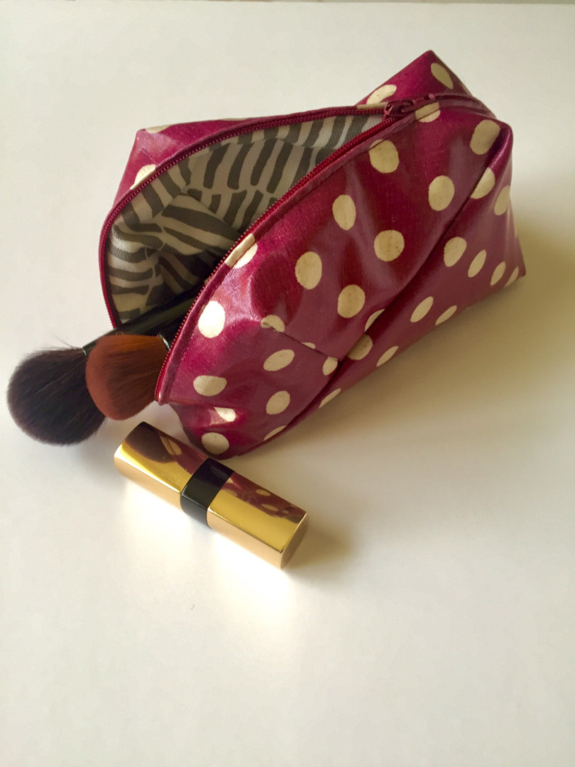 Make-Up bag with a zip