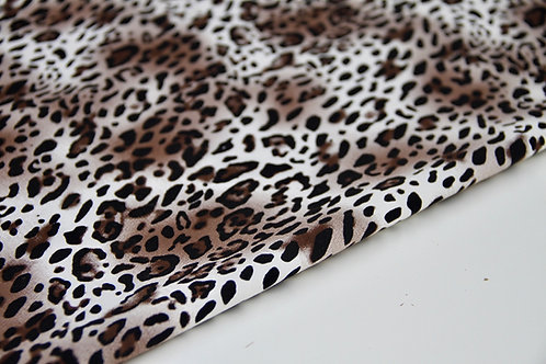 Stretch Cotton - Leopard Beige - 1/2 metre