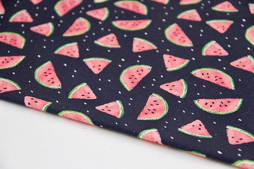 Cotton Jersey - Juicy Watermelon - 1/2 metre