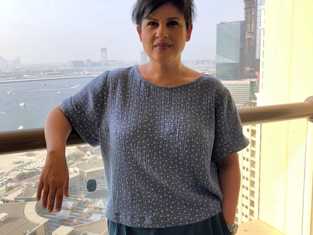 A boxy top in cloud-like cotton | A Guest blog post by Naureen