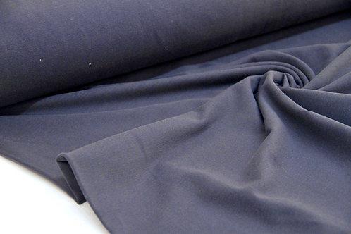 Brushed Back Sweatshirt - Navy - 1/2 metre