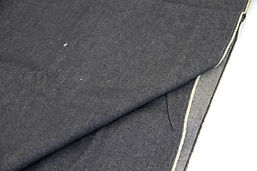 2.5m 11oz  Durham Heavy Cotton Denim - Indigo