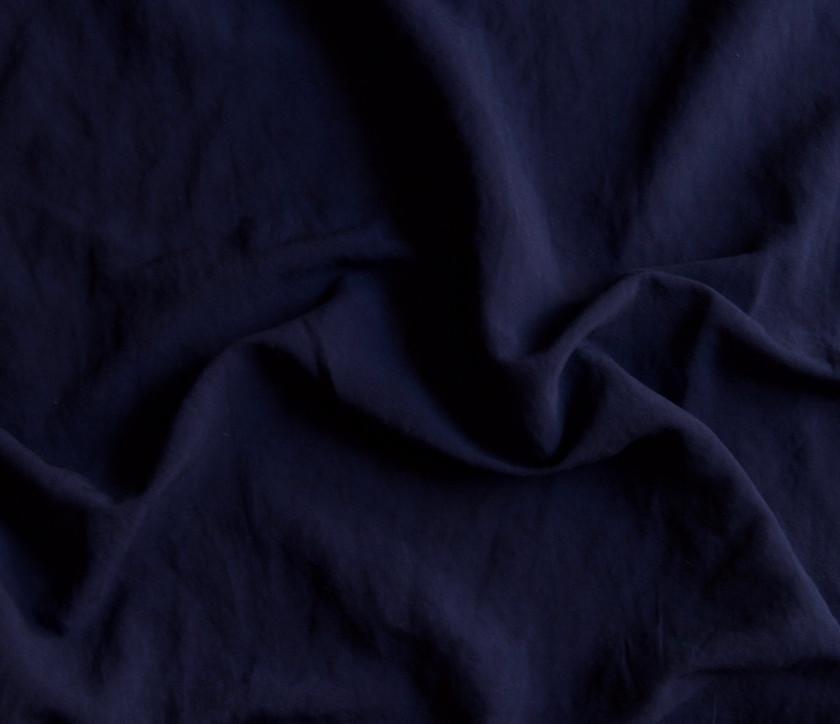 Viscose Linen - Navy