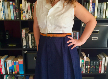 Pattern Review: Vintage Shirt Dress by Sew Over It