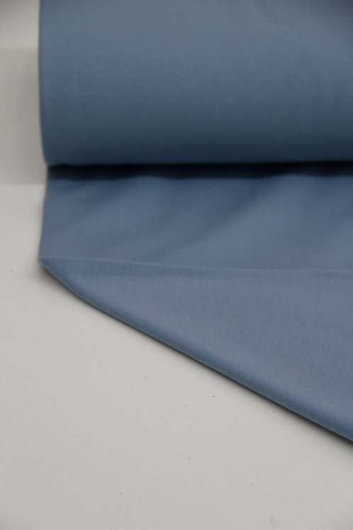 Brushed Back Sweatshirt - Sky Blue - 1/2 metre
