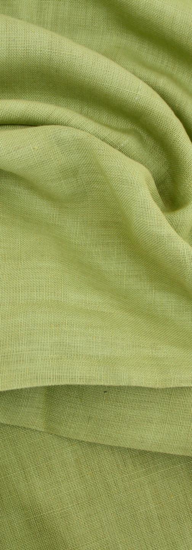 Pure Linen - Apple Green