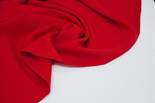 Linen Viscose - Scarlet Red - 1/2 metre