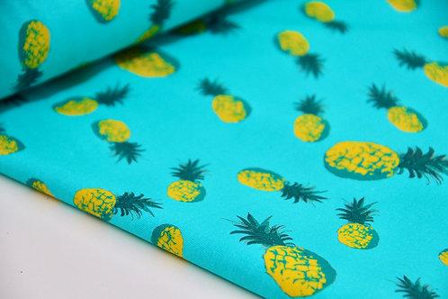 Cotton Jersey - Cool Ananas - 1/2 metre