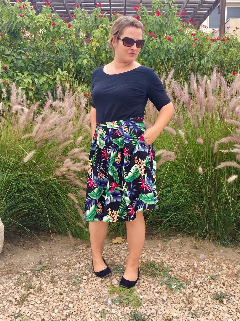 Swishy skirts are so much fun