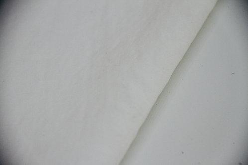 Viscose Linen - White - 1/2 metre