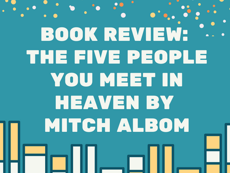 Book Review: The Five People You Meet in Heaven by Mitch Albom