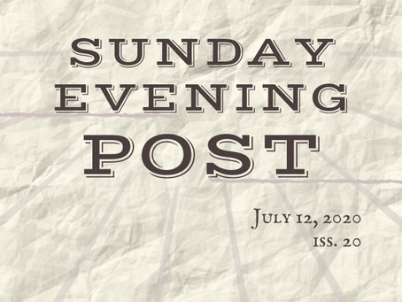 Sunday Evening Post Iss. 20