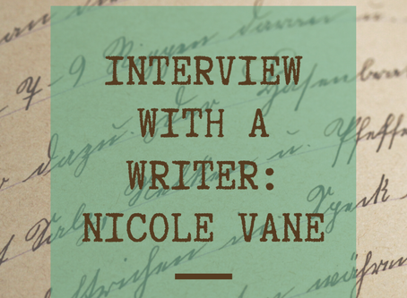 Interview with a Writer: Nicole Vane