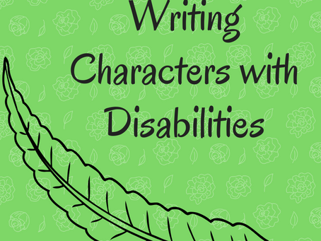 Writing Characters with Disabilities