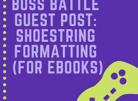 Shoestring Formatting (for eBooks)