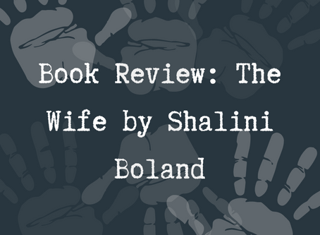 Book Review: The Wife by Shalini Boland