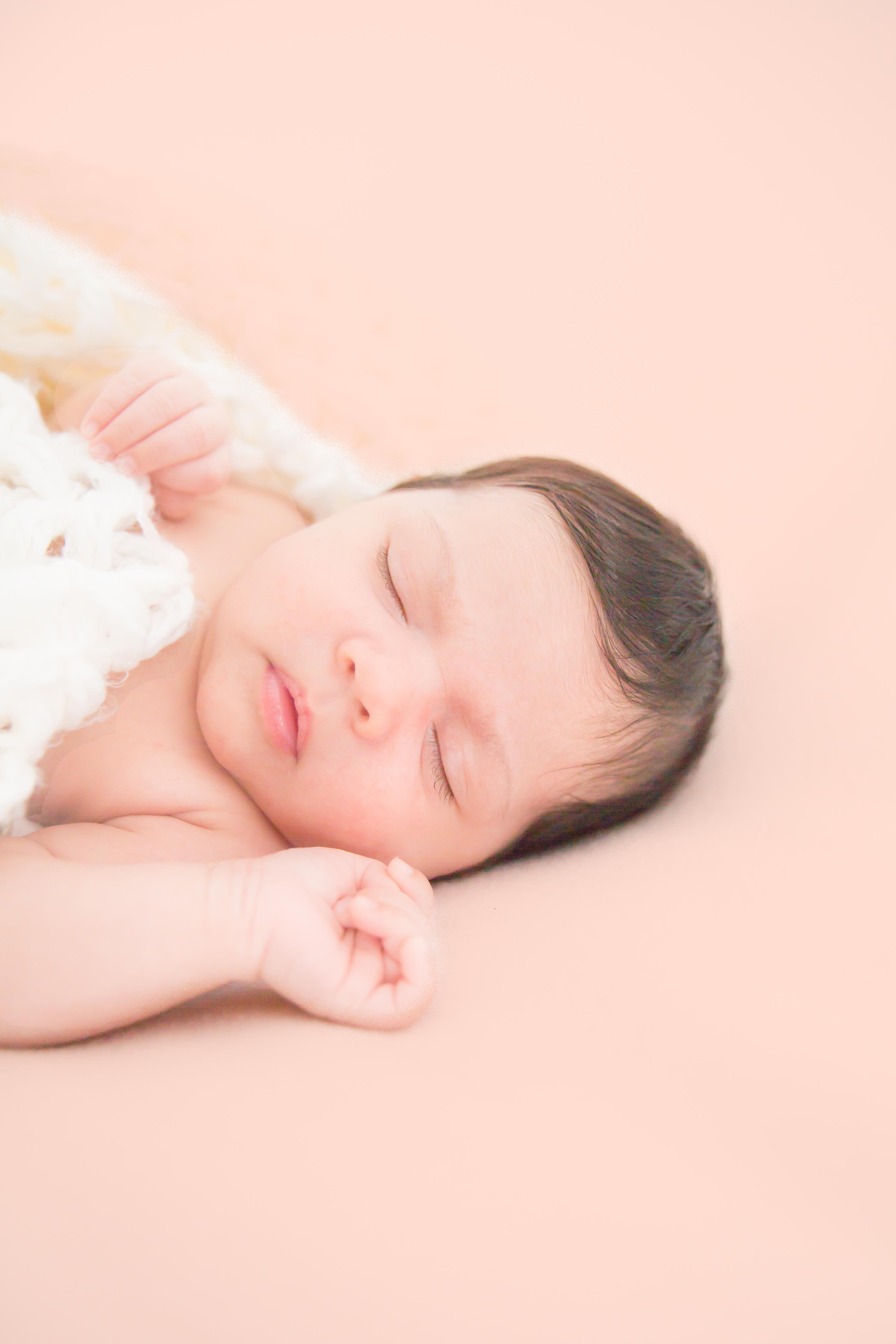 Baby Maya_Peachy dreams