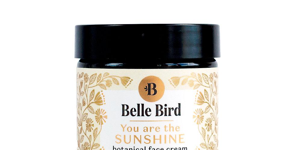 YOU ARE THE SUNSHINE   - botanical face cream