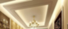 окачен таван по индивидуална поръчка