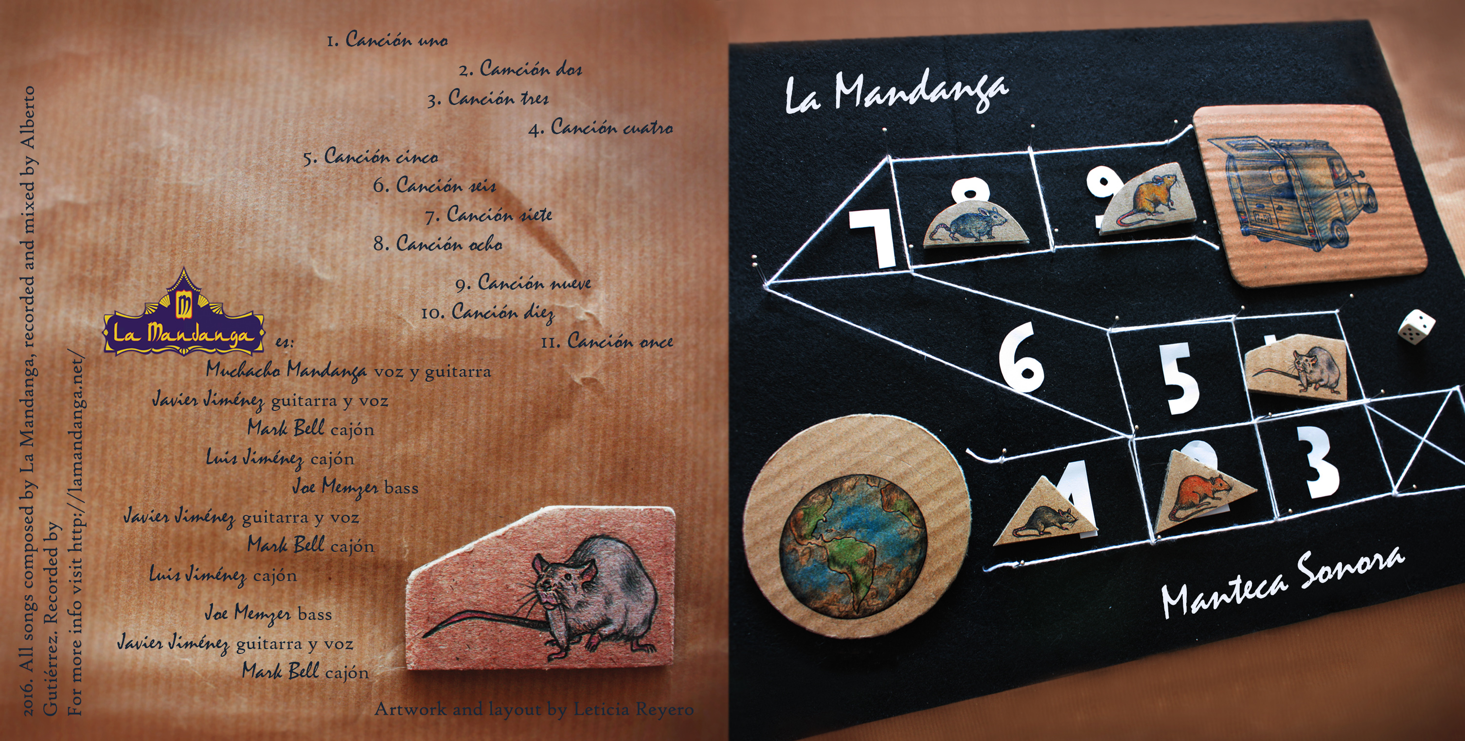 CD  Manteca Sonora