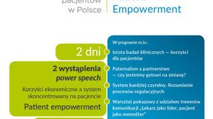 I KONGRES PATIENTEMPOWERMENT  profesjonalizacja działań pacjentów  w Polsce