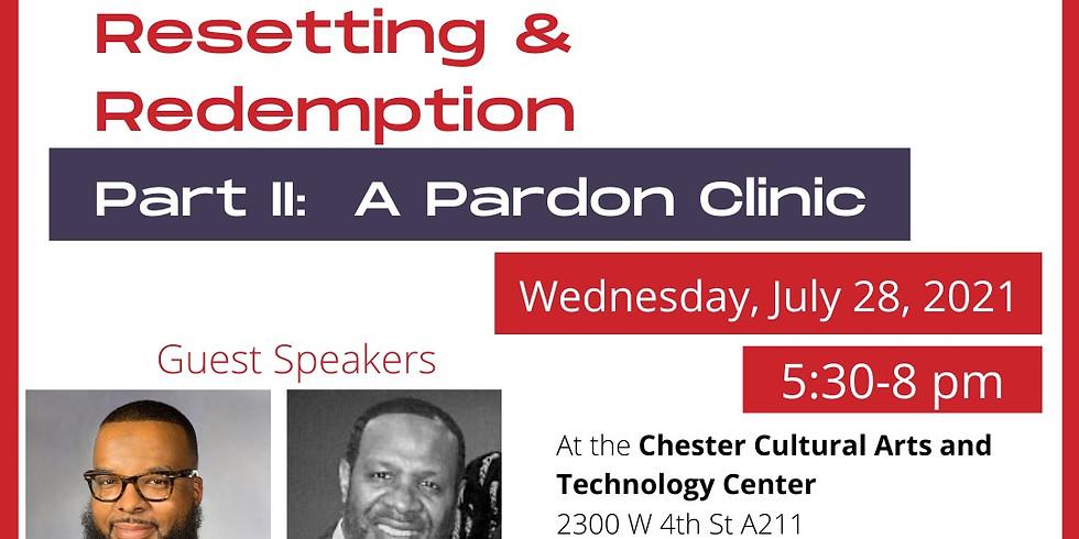Part   : A Pardon Clinic