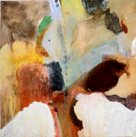 On the wild side a/c 100X100 cm