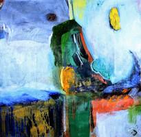 Peace painting n°2 a/c 190X190 cm