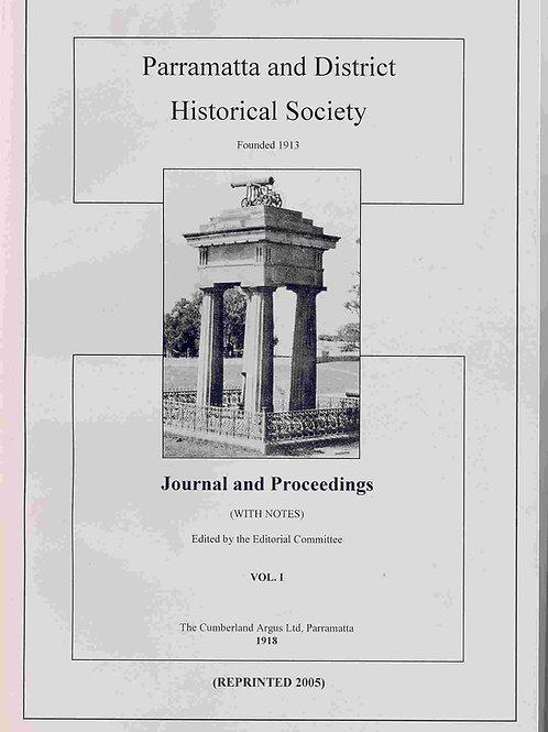 Journals No. 1 (1918), No. 2 (1921) & No. 3 (1926)