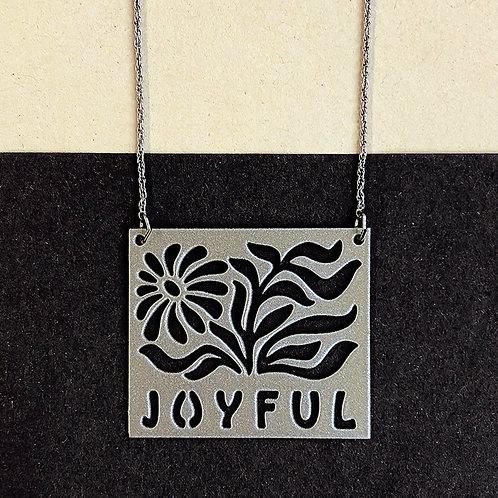 JOYFUL pendant, silver