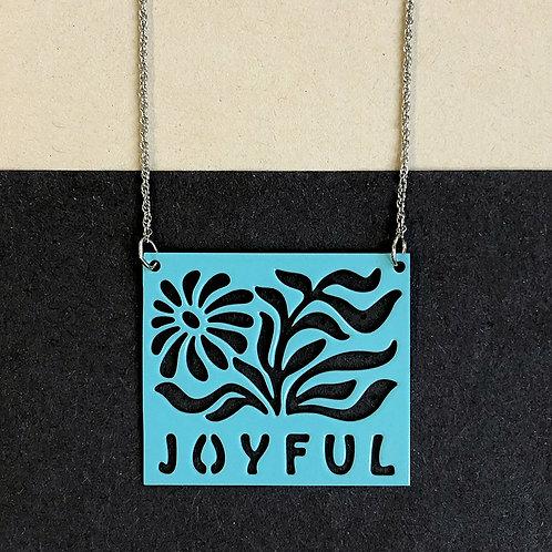 JOYFUL pendant, turquoise