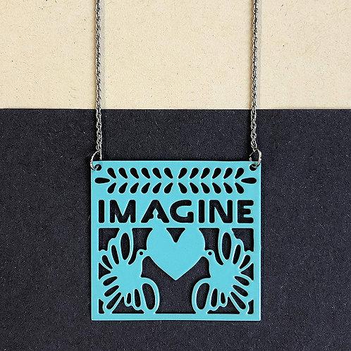IMAGINE pendant, turquoise