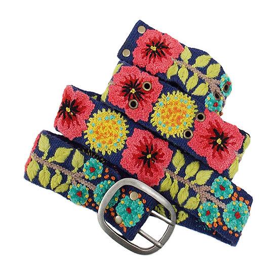 Flowers & Sprigs Belt
