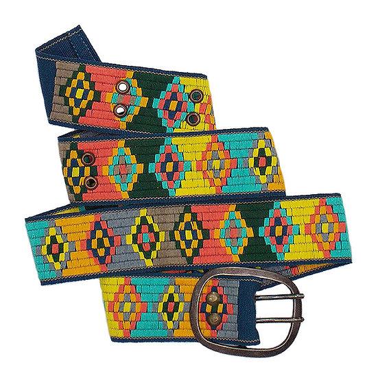 Handwoven Geometric Belt