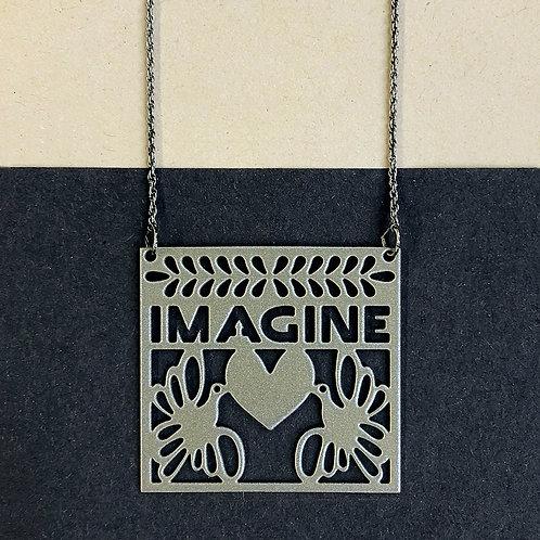 IMAGINE pendant, silver
