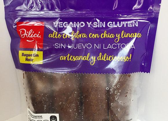 Pan Baguetin Noir Sin Gluten - Dilici