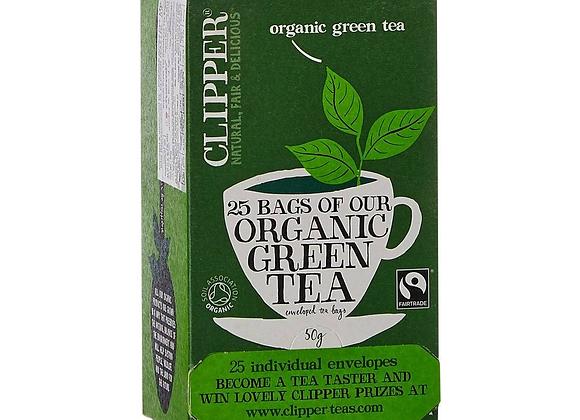 Té Verde Orgánico marca Clipper