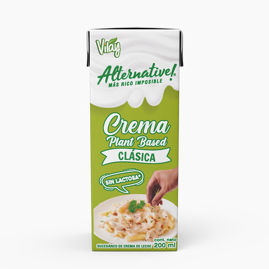 Crema Vegetal Espesa