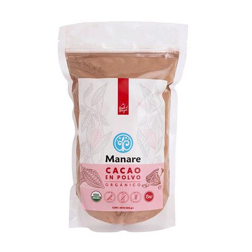 Cacao en polvo Manare