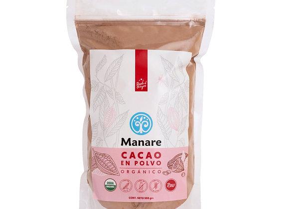 Cacao en polvo Manare 200g